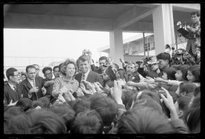 State 1 of the Attorney General Robert Kennedy visit to Japan