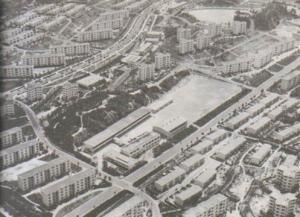 Photograph of the Kaori housing complex